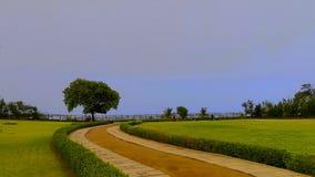Parque de la playa fotos de archivo