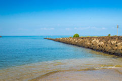Parque de la playa de Haleiwa Imagen de archivo libre de regalías