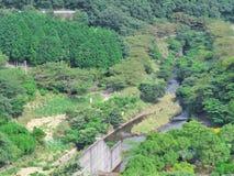 Parque de la presa de Okuno Fotos de archivo