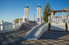 Parque de la señal de Benidorm Foto de archivo libre de regalías