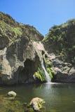 Parque de la selva virgen de la cascada Foto de archivo libre de regalías