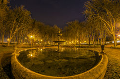 Parque de la Taconera. La Taconera de Pamplona is an area today in the center of the city, mainly occupied by a public park Stock Images