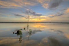 Parque de Laguna, Klang Selangor Fotos de archivo