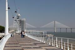 Parque de las naciones, Lisboa Imagen de archivo libre de regalías