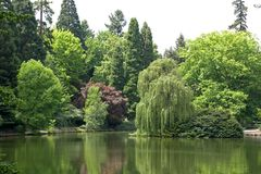 Parque de Laurelhurst Fotografía de archivo