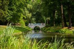 Parque de Lazienki fotos de archivo