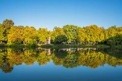 Parque de Lazienki, Varsovia, Polonia Imagenes de archivo