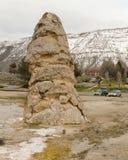 Parque de Liberty Cap In Yellowstone National Imagens de Stock