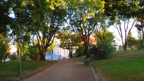 Parque de Lisboa foto de archivo libre de regalías