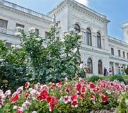 Parque de Livadia. El ajardinar. Yalta. Crimea. Ucrania. Fotografía de archivo