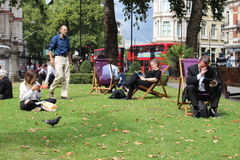 Parque de Londres Foto de archivo