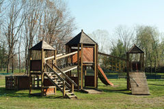 Parque de los niños Fotografía de archivo libre de regalías