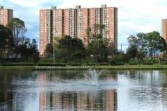 Parque de Los Novios, Bogota Lizenzfreies Stockfoto