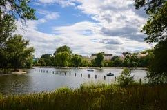 Parque de los regentes en Londres Imagenes de archivo