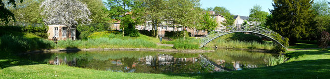 Parque de Lovaina Bélgica Fotografía de archivo