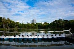Parque de Lumpini Foto de archivo libre de regalías