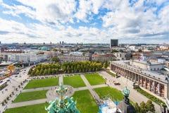 Parque de Lustgarten e museu de Altes em Berlim Imagem de Stock