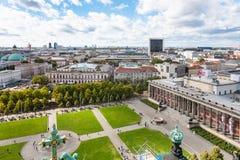 Parque de Lustgarten e museu de Altes em Berlim Fotografia de Stock Royalty Free