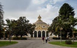 Parque de MarÃa Luisa Maria Luisa Park, i Seville, Spanien arkivfoton