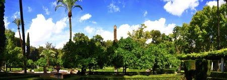 Parque de Maria Luisa en Sevilla Foto de archivo