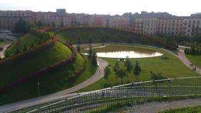Parque de Milão fotografia de stock royalty free