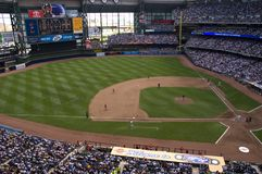 Parque de Miller, HOME dos Milwaukee Brewers Fotografia de Stock