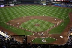 Parque de Miller - Milwaukee Brewers Imagem de Stock Royalty Free
