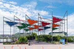Parque de Miniaturk en Estambul imagenes de archivo