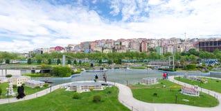 Parque de Miniaturk en Estambul fotografía de archivo