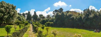 Parque de Monserrato no sassari Italia da mola Imagens de Stock Royalty Free