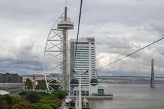 Parque de naciones (Parque das Nações), Lisboa Foto de archivo libre de regalías
