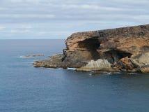 Parque de naturaleza Ajuy en Fuerteventura Fotografía de archivo