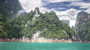 Parque de naturaleza del sok de Khao Imagen de archivo