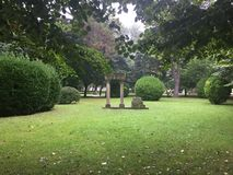 Parque de naturaleza en Gijón Asturias España foto de archivo libre de regalías