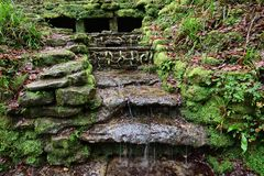 Parque de Ninesprings em Yeovil imagem de stock