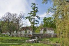 Parque de Oleksandriia en Bila Tserkva, Ucrania Foto de archivo libre de regalías