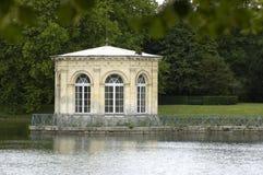 Parque de palacio de Fontainebleau Imagenes de archivo
