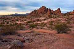 Parque de Papago en Phoenix, Arizona Imagen de archivo
