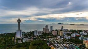 Parque de Pattaya imagen de archivo libre de regalías