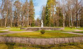 Parque de Pavlovsk em St Petersburg Imagem de Stock
