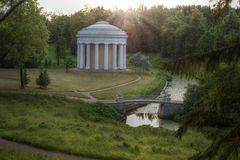 Parque de Pavlovsk, St Petersburg, Rusia Imagenes de archivo