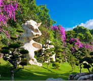 Parque de pedra dos anos de Milliom Imagens de Stock Royalty Free