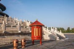 Parque de Pekín el Templo del Cielo Imagenes de archivo