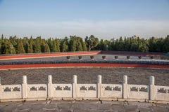 Parque de Pekín el Templo del Cielo Fotos de archivo