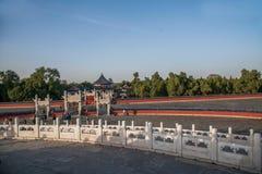 Parque de Pekín el Templo del Cielo Imagen de archivo libre de regalías