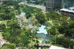 Parque de Petronas Imagen de archivo libre de regalías