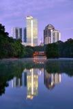 Parque de Piedmont en Atlanta Imágenes de archivo libres de regalías