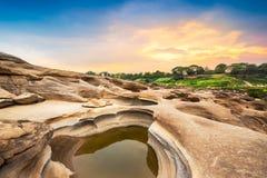 Parque de piedra natural Imagen de archivo libre de regalías