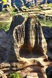 Parque de piedra rojo de la geología del bosque en la provincia de Hunán, China Fotografía de archivo