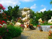 Parque de piedras en Pattaya Fotografía de archivo libre de regalías
